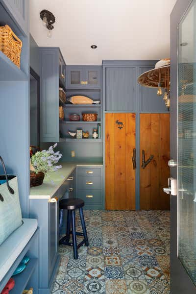Traditional Pantry. Lake House by Paul Hardy Design Inc..