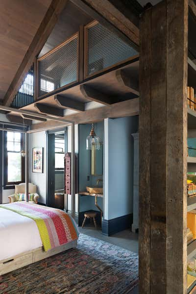 Traditional Children's Room. Lake House by Paul Hardy Design Inc..