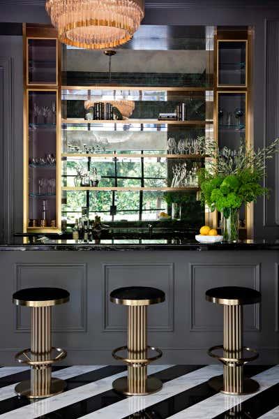 Regency Bar and Game Room. Perugia Road by KES Studio.