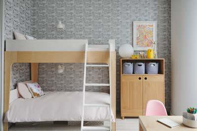Contemporary Children's Room. Tribeca Family Condo by Lucy Harris Studio.