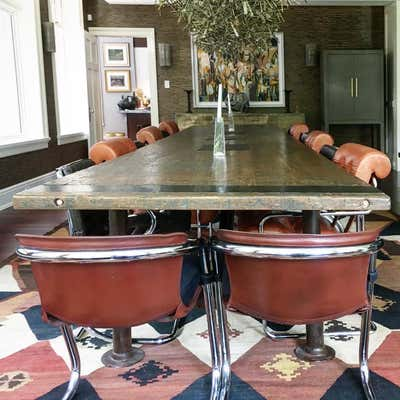 Moroccan Dining Room. Upper Mount Royal by Paul Hardy Design Inc..