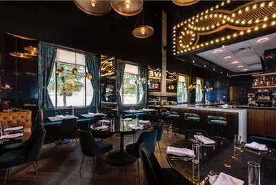 Restaurant Kitchen. GJ Tavern by Nest Design Group.