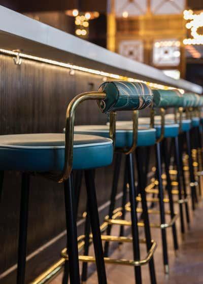 Restaurant Bar and Game Room. GJ Tavern by Nest Design Group.