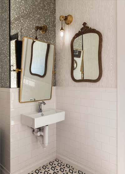 Restaurant Bathroom. GJ Tavern by Nest Design Group.