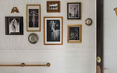 Hollywood Regency Bathroom. GJ Tavern by Nest Design Group.