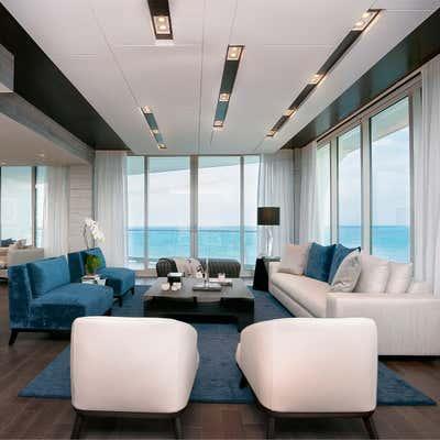 Contemporary Open Plan. Condo OM in Miami by Mueblería Standard.