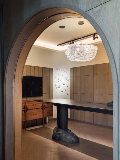 Contemporary Meeting Room. Zydus Cadila Office by Iram Sultan Design Studio.