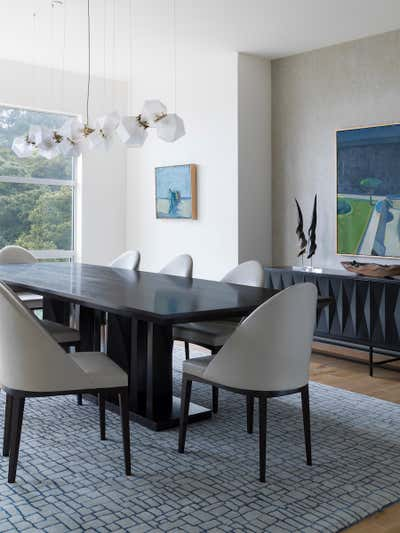 Bachelor Pad Dining Room. Sausalito Residence by Tineke Triggs Artistic Designs For Living.