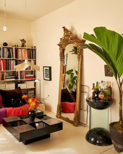 Regency Living Room. East Village Residence  by Jett Projects.
