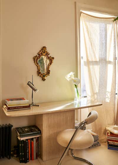 Regency Office and Study. East Village Residence  by Jett Projects.