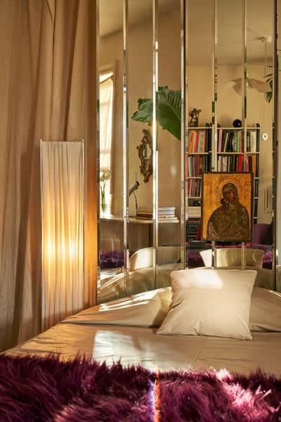 Regency Bedroom. East Village Residence  by Jett Projects.