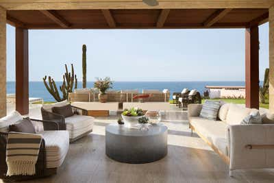 Modern Patio and Deck. Cabo San Lucas Retreat by Tineke Triggs Artistic Designs For Living.
