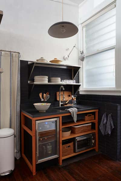 Office Kitchen. Lyon Creative Agency by Landed Interiors & Homes.