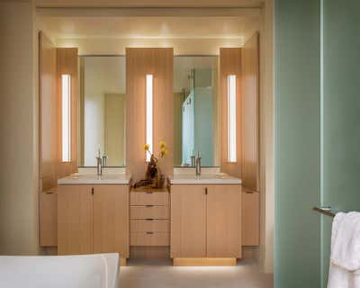 Contemporary Family Home Bathroom. Carmel Getaway by The Wiseman Group Interior Design, Inc..
