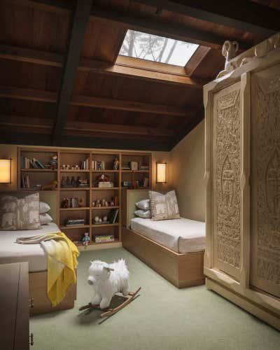 Mediterranean Bedroom. Carmel Getaway by The Wiseman Group Interior Design, Inc..