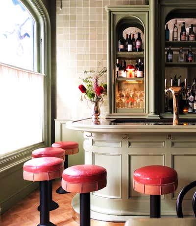 Restaurant Dining Room. Canary Club  by Emily Frantz Design.