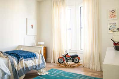 Beach Style Children's Room. Balboa Beach House by Landed Interiors & Homes.