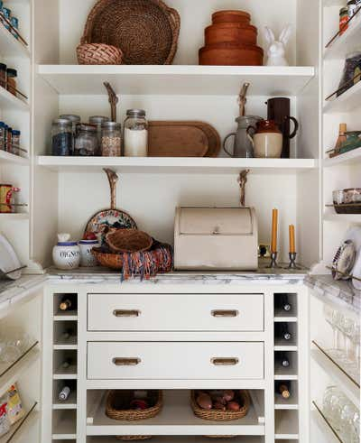 Eclectic Pantry. Geary English Eccentric by Landed Interiors & Homes.