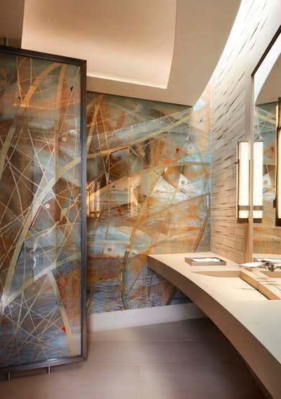 Contemporary Family Home Bathroom. Nouveau Modern by The Wiseman Group Interior Design, Inc..