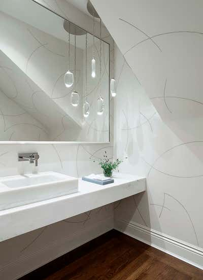 Contemporary Bathroom. The Lighter Side by The Wiseman Group Interior Design, Inc..