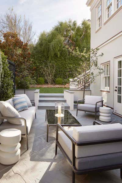 Transitional Exterior. The Lighter Side by The Wiseman Group Interior Design, Inc..
