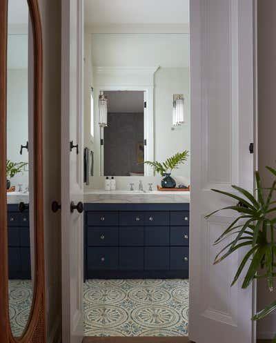 Moroccan Bathroom. Coconut Grove by KitchenLab | Rebekah Zaveloff Interiors.