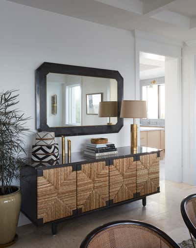 Moroccan Dining Room. Coconut Grove by KitchenLab | Rebekah Zaveloff Interiors.