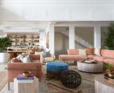 Tropical Living Room. Coconut Grove by KitchenLab | Rebekah Zaveloff Interiors.