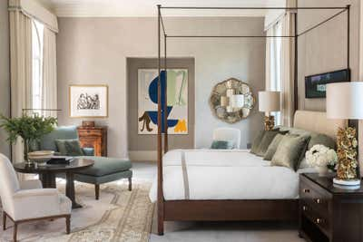 Regency Bedroom. The Art of Home by Mohon Interiors.