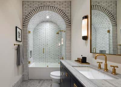 Contemporary Family Home Bathroom. New Trail by Habitat Roche.