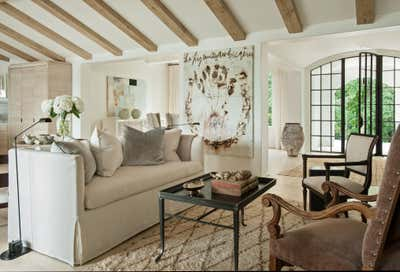 Bachelor Pad Living Room. Cherokee Road House by Patti Woods Interiors.