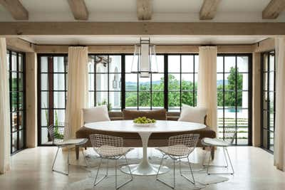 Bachelor Pad Dining Room. Cherokee Road House by Patti Woods Interiors.