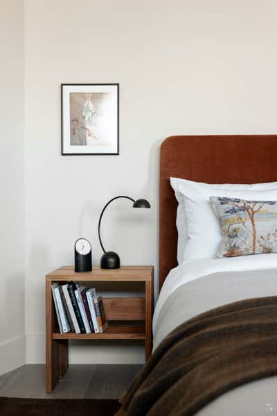 Vacation Home Bedroom. Lowell by Two Muse Studios.