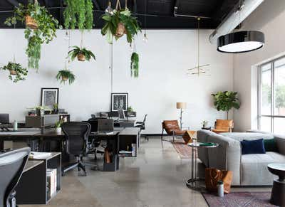Tropical Workspace. Handsome Office by Scheer & Co..
