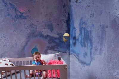 Contemporary Children's Room. Tribeca Residence by Ayromloo Design.