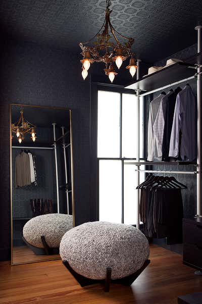 Arts and Crafts Storage Room and Closet. Hemphill Park by Scheer & Co..