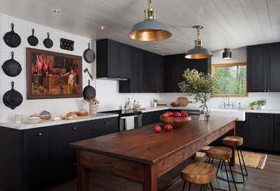 Country House Kitchen. Little Boggy by Scheer & Co..