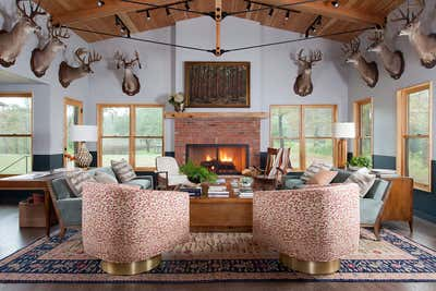 Country House Living Room. Little Boggy by Scheer & Co..
