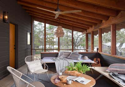 Farmhouse Patio and Deck. Little Boggy by Scheer & Co..