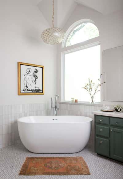 Contemporary Family Home Bathroom. Red Mesa by Scheer & Co..
