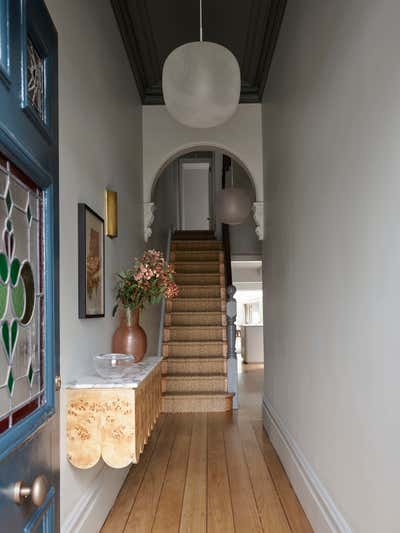 Contemporary Family Home Entry and Hall. Darley House by Arent&Pyke.
