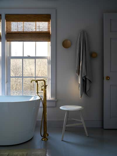 Country House Bathroom. Connecticut Cottage by Hendricks Churchill.