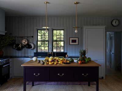 Country House Kitchen. Connecticut Cottage by Hendricks Churchill.