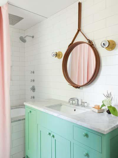 Contemporary Bachelor Pad Bathroom. Cambridge Massachusetts by Carter Design.