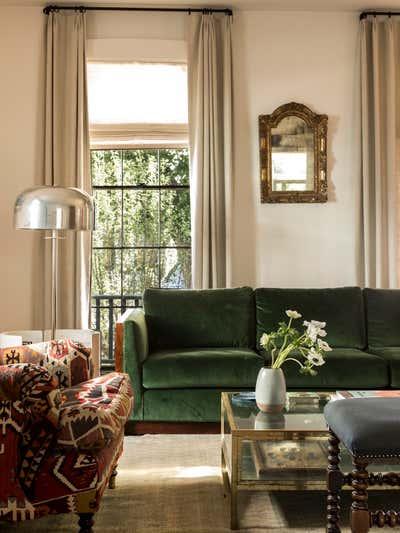 Bachelor Pad Living Room. Cambridge Massachusetts by Carter Design.
