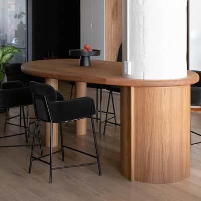 Contemporary Apartment Dining Room. Broadway Loft by Cinquieme Gauche.