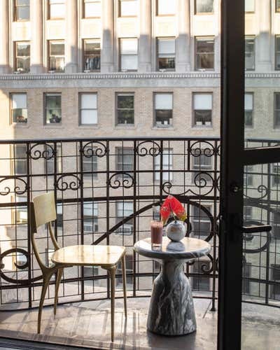 Contemporary Patio and Deck. Broadway Loft by Cinquieme Gauche.