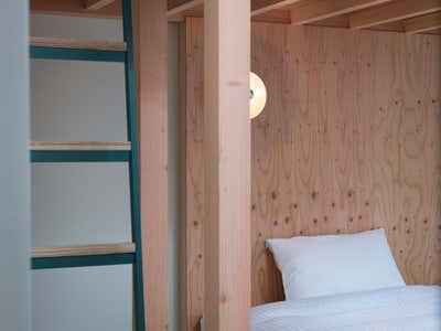 Tropical Bedroom. KIRO HIROSHIMA by the sharehotels by HIROYUKI TANAKA ARCHITECTS.