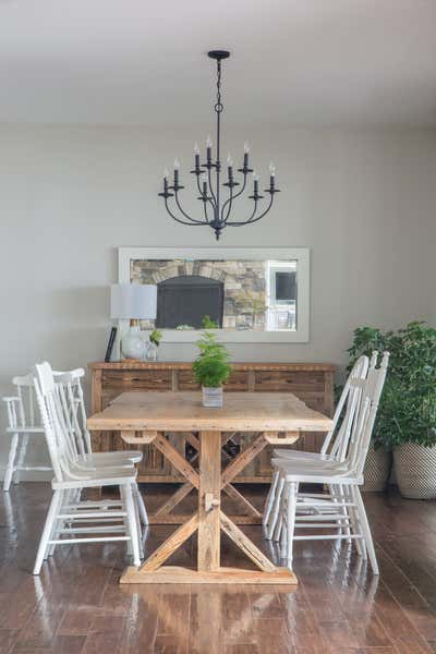 Country House Dining Room. Lakeside Retreat by Fontana & Dames.