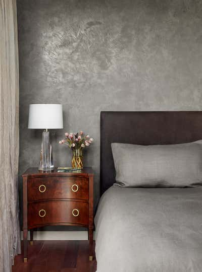 Contemporary Family Home Bedroom. Clarksville Residence  by Love County Interiors and Design.